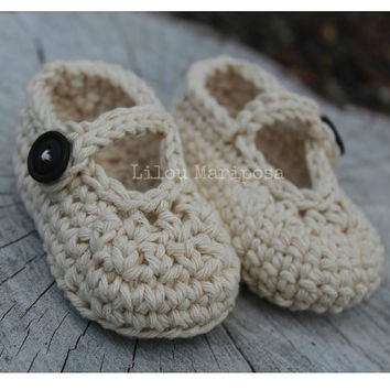 CROCHET BABY SHOES Pattern Crochet Mary Jane Shoes Pattern Crochet Baby Slippers Pattern Crochet Baby Booties Pattern