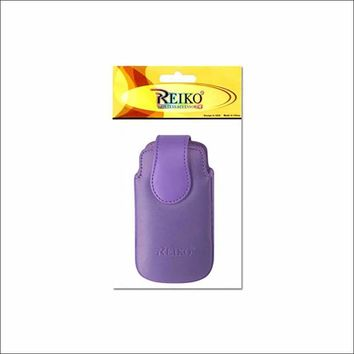 VERTICAL POUCH VP10A LG LX260 RUMOR PURPLE 4.3X2X0.7 INCHES: Case Of 120