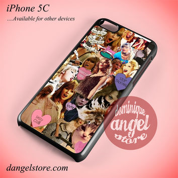 Taylor Swift Collage 2 Phone case for iPhone 5C and another iPhone devices