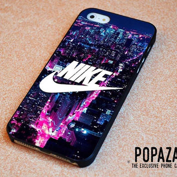 NIKE Logo New York City iPhone 5 | 5S Case Cover