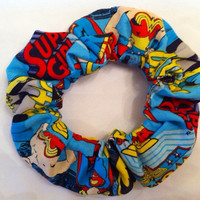 Wonder Woman Batgirl and Supergirl Hair Scrunchie by StylishGeek