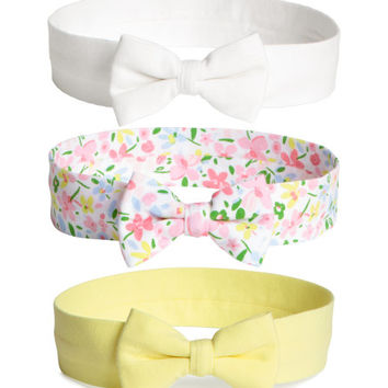 3-pack Hairbands - from H&M