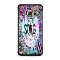 One Direction best song ever band galaxy Samsung Galaxy S6 Edge Case