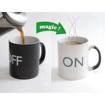 ON/OFF Mug: Amazon.co.uk: Kitchen & Home