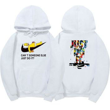 New just do it hoodies poleron hombre fashion skateboard Streetwear sweatshirt polerones mujer men women hoodie sweat homme 9818