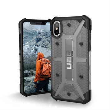 UAG iPhone X Plasma Feather-Light Rugged [ASH] Military Drop Tested iPhone Case
