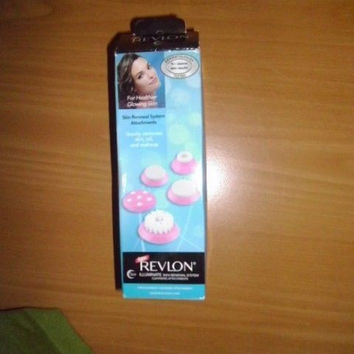 REVLON ILLUMINATE SIN RENEWAL SYSTEM CLEANSING ATTACHMENTS;FOR USE ONLY RVSP3505