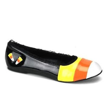 Cute Halloween Flats Women'S Size Shoe