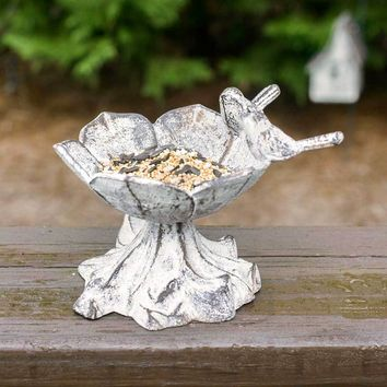 Daisy Tabletop Birdbath/Feeder