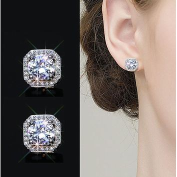 Fashion Jewelry Water Droplets Wild Carved Crystal