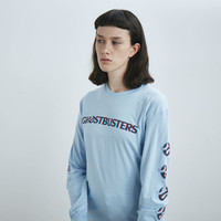 Aymmy in the Batty Girls Ghostbusters Logo Long Sleeve T-shirt - Everything - Categories - Womens