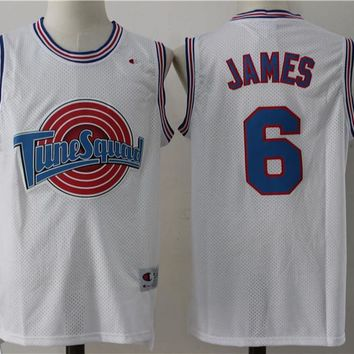 Space Jam 6 James Movie Basketball Jersey