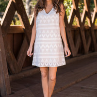 Key To Success Dress, Ivory