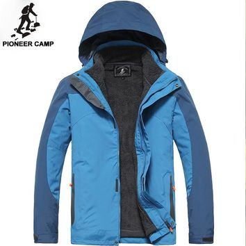 new winter mens jacket s thicken warm coat waterproof fitness breathable mens coat male jacket casual