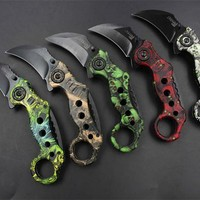 Portable Pocket Folding Knife karambit Knife