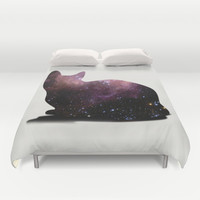 Willow the Galaxy Cat! Duvet Cover by All Is One