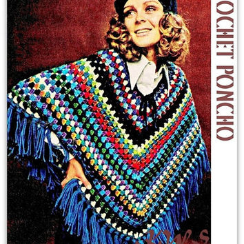 Best Poncho Patterns To Crochet Products On Wanelo