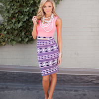 Diamond Print Pencil Tank Dress