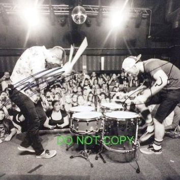 Twenty One Pilots band reprint signed promo photo by both #3 RP