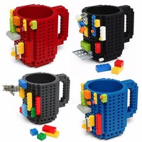 LEGO MUG - For those with the need to tinker while sipping