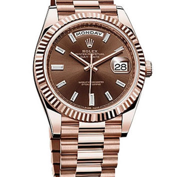 Rolex - Day-Date 40 Everose Gold