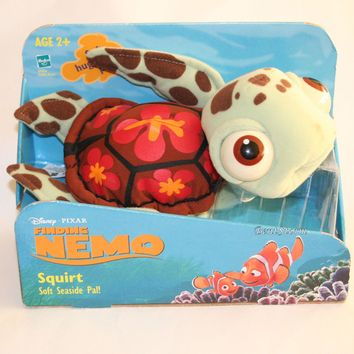 "Licensed cool 10"" Finding Nemo SQUIRT Ocean Turtle Plush STUFFED TOY Disney Pixar 2003 in Box"