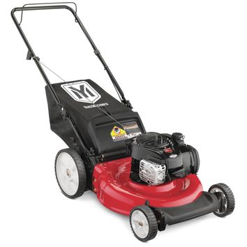 Yard Machines 21 in. 140cc OHV Briggs & Stratton Walk Behind Gas Push Mower-11A-B1BE729 - The Home Depot