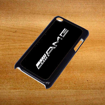 Mercedes AMG Logo Design For iPod Touch 4 Case *76*
