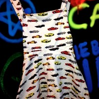 SWEET LORD O'MIGHTY! Race Cars Pinafore