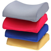 Memory Foam Lumbar Back Support Cushion for Office Car Seat Chair
