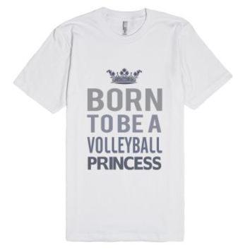 Skreened Born To Be A Volleyball Princess