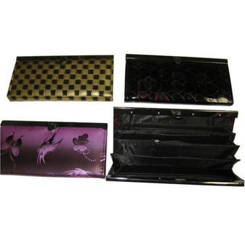 Ladies clutch purse Wallet With Many Compartments