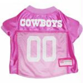 Dallas Cowboys Pink Jersey LG