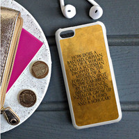 Hamilton Quotes iPhone 5S Case  Sintawaty.com
