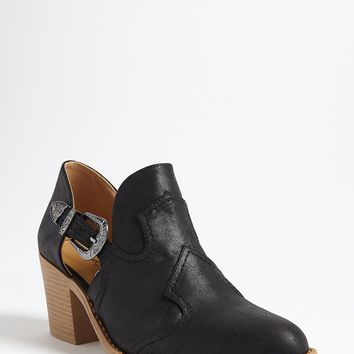 Qupid Faux Leather Side Cutout Boots