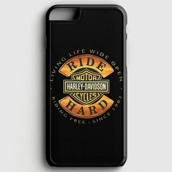 Harley Davidson Motorcycles Ride Hard Since iPhone 6 Plus/6S Plus Case | casescraft