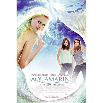 Aquamarine 27x40 Movie Poster (2006)