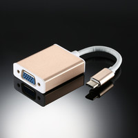 USB 3.1 Type C to VGA  Converter Adapter 1080Pp for MacBook ChromeBook Pixel Letv Other USB-C Devices