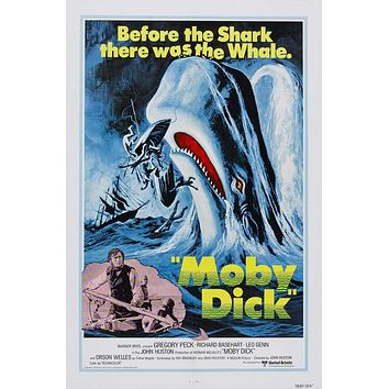 Moby Dick 27x40 Movie Poster (1956)