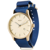 Neff - Esteban Watch - Gold/Blue