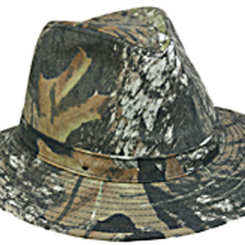 Outdoor Cap Safari Hat         Mossy Oak 900Ex-Mobu