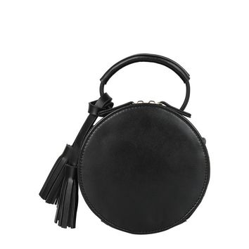 Trixie Small Tassel Crossbody