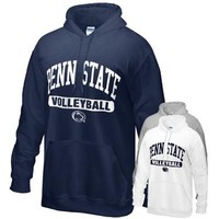 Penn State Hood with Volleyball Print | Sweatshirts > HOODIES > SCREEN PRINTED