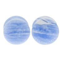Blueberries N' Cream Flat Plugs (3mm-25mm)
