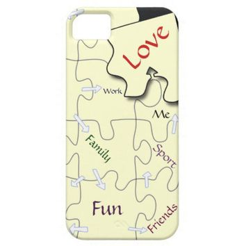 Customize - Life's jigsaw puzzle iPhone 5 cases from Zazzle.com