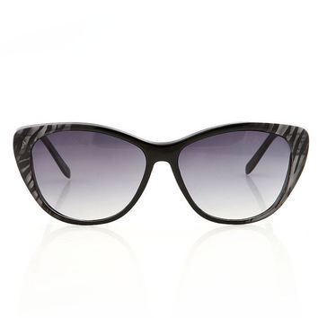 Zebra Cateye Sunglasses