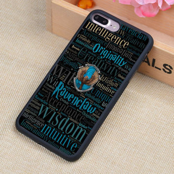 Ravenclaw Harry Potter Style Printed Soft Rubber Phone Cases For iPhone 6 6S Plus 7 7 Plus 5 5S 5C SE 4 4S Back Cover Skin Shell