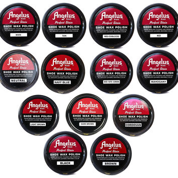 Angelus Shoe Wax Polish 3fl Oz ( Color Variety)