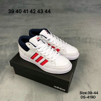 Adidas CF ALL COURT MID Men and Women Fashion Sports Outdoor Skate Shoes