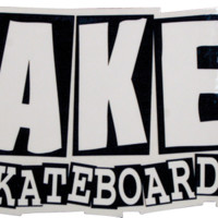 BAKER BRAND LOGO SM DECAL single